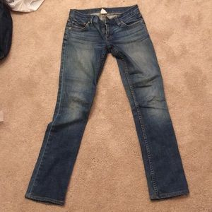 Ralph Lauren dark wash straight leg jeans